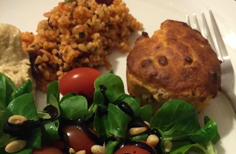 parmesan-schinken-muffin
