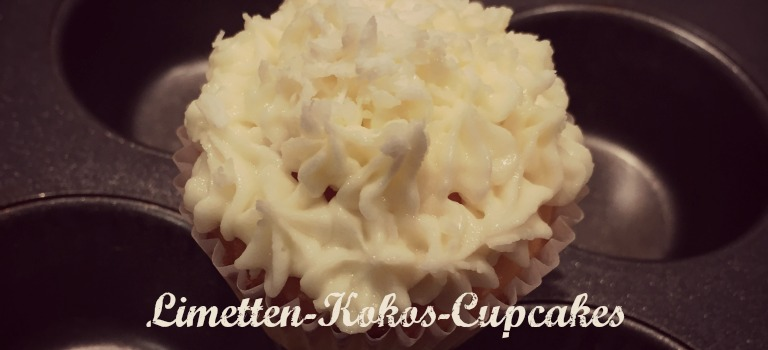 Limetten-Kokos-Cupcakes