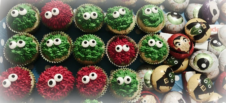 halloween-monster-cupcakes